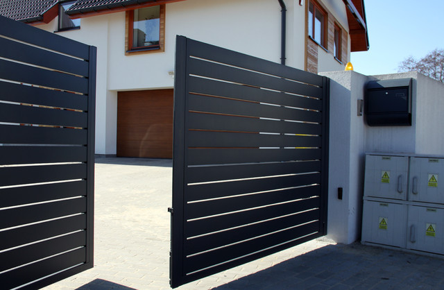 Aluminium Modern House Gate Designs Buy Modern House