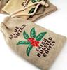 factory price Environmental natural importer drawstring jute bag and small jute bag