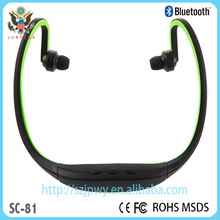 Hot new patent products for 2015 touch headphone SC-81 bluetooth headset