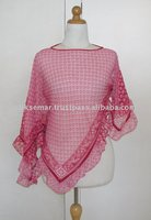 Pink Serut Campur Sari Blouse