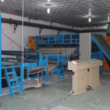 nonwoven needle punching carpet making machine ,automatic blanket manufacturing machinery