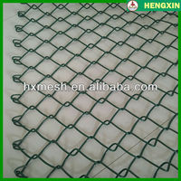 Chain Link Woven Wire Fencing/Pvc Insulated Chain Link Fence