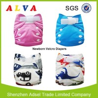 Alva Velcro Thx Newborn Diaper Bulk Diapers for Sale Thx Newborn AIO Cloth Diaper