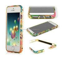 Aluminum Diamond Bumper Case For Iphone 5 s 5 accept the small order