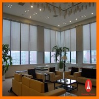 Curtain times professional factory motorized vertical blind track all accessories for blinds