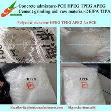 Good Cement Adaptation Chemical Additive HPEG in PCE Processing