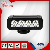 12v 24v car led light bars 40W 8inch outdoor truck lights for auto accessories jeep