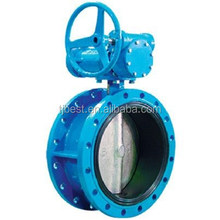 High quality. H341X- Flange Type Butterfly Valve c/w Gear Wheel Operator.