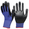 NMSAFETY 13G Black Seamless Knitted Nitrile Working Gloves/safety gloves/knitted gloves