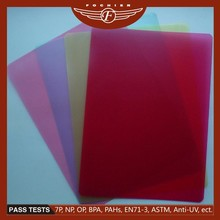 Eco-friendly plastic ABS pmma sheet for shoes/bags/travel box