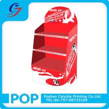 Casa estilo pop papelão expositores/pos displays de papelão stand