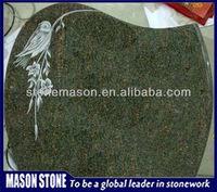 headtone bird carved 2013 granit memorial