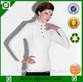 mujer blusa de invierno la moda de nueva blusa de encaje blanco diseños