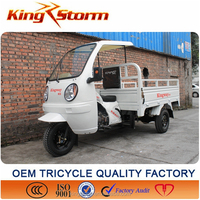 Tricycle with Cabin/loading Three Wheel Motorcycle made in China