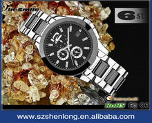 Best price! New and luxury stainless steel case back men watch promotion gift
