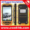 IP67 Waterproof Rugged Smartphone MTK6572 Dual Core Dual SIM Card Alps A8 Mobile Phone China