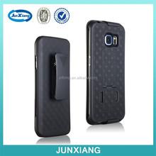 Mobile phone case holster combo case swivel belt clip for Samsung Galaxy S6 edge
