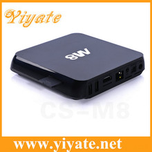 2014 NEW Android tv box 4.4 M8 Amlogic S802 xbmc tv box cortex a9 car dvb-t tv tuner receiver box