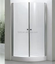 T-3212 high quality bathroom glass made sliding russian shower room