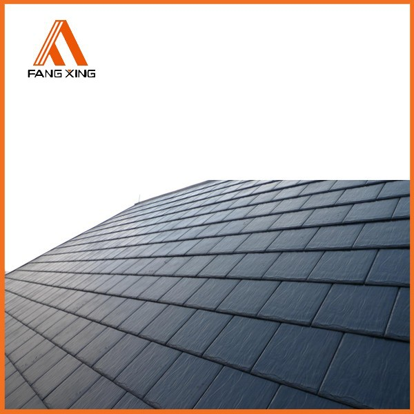 Fire Resistant Roof Tile : Fire resistant plastic building synthetic slate roofing