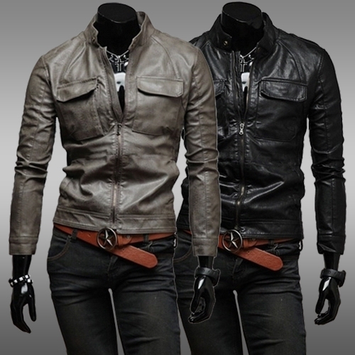 2017 Fall 2015 Autumn And Winter Unique Double Pocket Design Mens ...