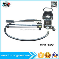China supplier Yuhuan made high quality low price HHY-500 manual hydraulic hose crimping tool