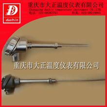 S type thermocouple with locknut connection and water-proof head