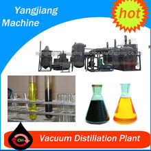 Oil Purifier 1T-20T/D Dirty Used Lubricant Oil Refinery for Sale