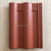 Chinese heat insulation clay curved roof tile colored Construction Materials