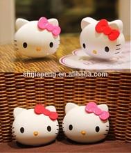 Factory wholesale polymer LI battery 12000mAh hello kitty fashion power bank made in japan