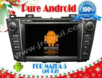 FOR Mazda 5 android 4.2.2 Car DVD GPS, Cortex A9 Dual Core, Support Rear View Camera/BOD/Steering Wheel Control