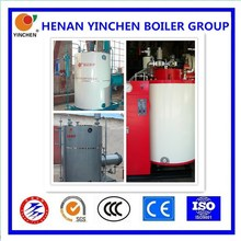 LSS vertical 0.5t/h~4.0t/h Generate steam industrial gas heater vertical oil/gas fired boilers