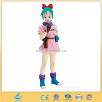 Dragon Ball Z manga toys wholesale, hot sell plastic girl action figures dragon ball z, OEM soft pvc action figure factory