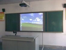 2015 hot selling China interactive whiteboard with interactive learning software