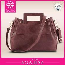 Hot new fashion design wholesale alibaba suede handbag 2015
