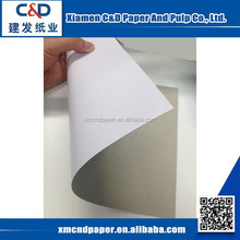 China Manufacturers Coated Duplex Board With Grey Back