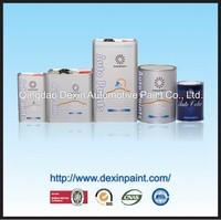 Glitter car paint