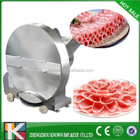 full functional Frozen Beef Roll Slicer of meat slicing machine