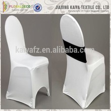 New design white banquet and weddings cheap spandex chair cover