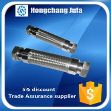 welding hose stainless steel tube internal threaded flexible joint coupling