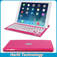 Customize Aluminum Bluetooth Keyboard With Magnet Clip For iPad Air 2, Magnetic Bluetooth Keyboard For iPad Air