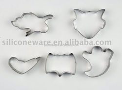 bat pumpkin ghost mask shape stainless steel cookie cutters