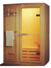 Oceanic solid wood far infrared sauna room