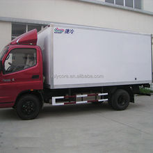 refrigerated cooling cargo van made by pp honeycomb sandwich panel for sale