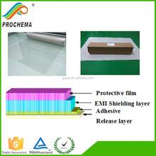 Best quality 85Mesh adhesive copper grid pet film hospital used shielding film