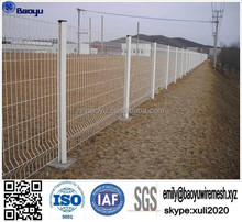 galvanized welded wire mesh fence/pvc coated mesh panel