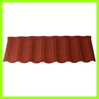 Chinese clear antique metal zinc villa decorative roof tiles