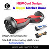 Cheap shipping cost Electric Unicycle Mini Scooter Two Wheels Self Balancing scooter black