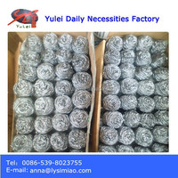 in bulk packing 15kgs/carton gi and stainless steel 410 scrubber