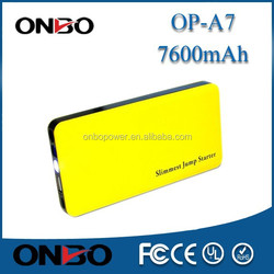 Colorful Battery Supply Portable Jump Starter Power Bank 10000mAh For PDA